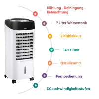 3in1 Aircooler Air Cooler Mobile Klimaanalge