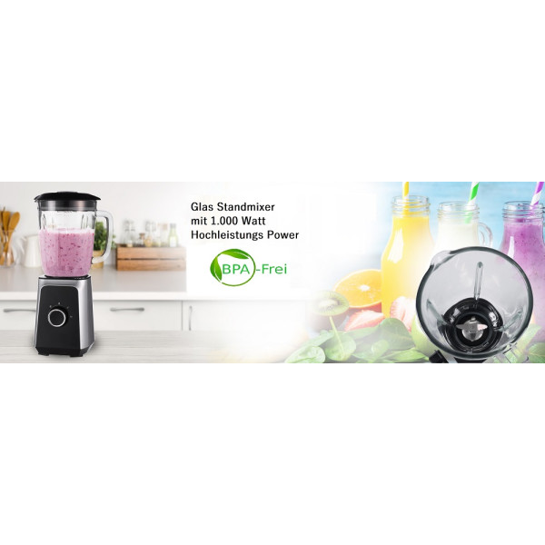Camry Standmixer 1,5 L 1000 W