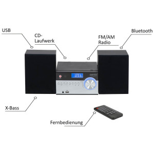 Camry CR-1173 Stereoanlage